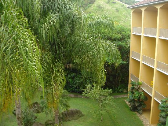 Plaza Caldas Da Imperatriz Resort & Spa: view from our window