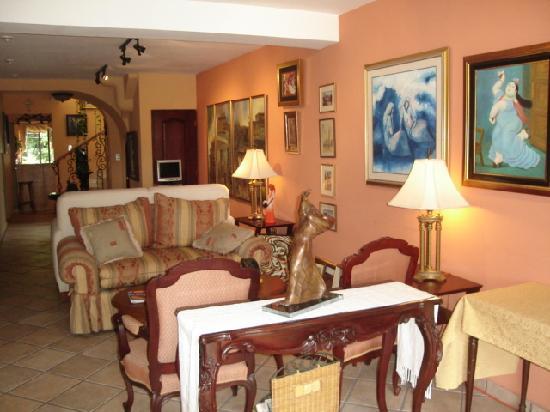 Morrison Hotel de la Escalon: the lobby