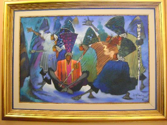 Morrison Hotel de la Escalon: artwork in the hotel