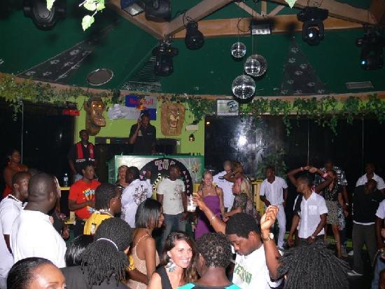 The Jungle Night Club, Sports Bar & Grill: jungle dance floor