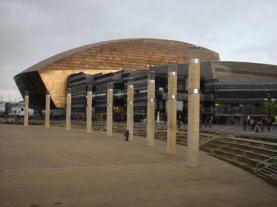 The Millennium and Roald Dahl Plass, Cardiff, Wales