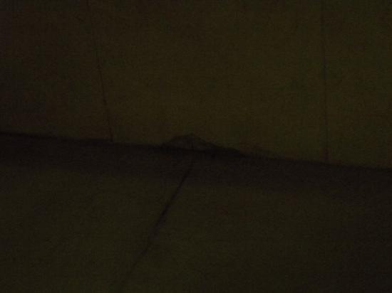 Grand Moov Hotel: dirty floor of bathroom