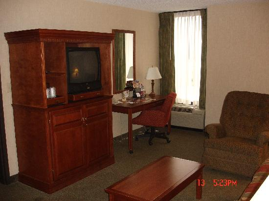 Drury Inn & Suites St. Louis-Southwest: Living room one