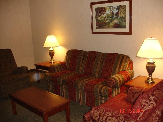 Drury Inn & Suites St. Louis-Southwest : Living room two