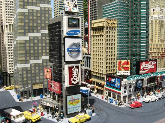 Legoland Times Square made out of Legos - Picture of Catamaran ...