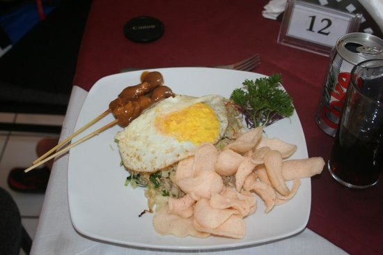 Sheppy`s Bar and Restaurant : Nasi Goreng Special