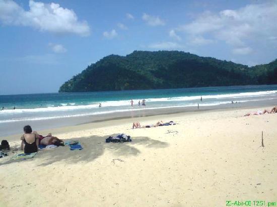 Maracas Bay : todo calmado y relax, en temporada baja claro!