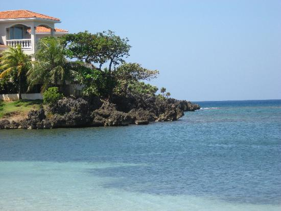 Fantasy Island Beach Resort: Did I mention it's picturesque? This is a view from downtown