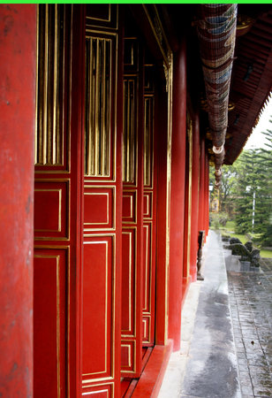 Doors Forbidden City Hue