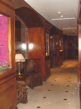 Park 10 Hotel: pasillo de ingreso