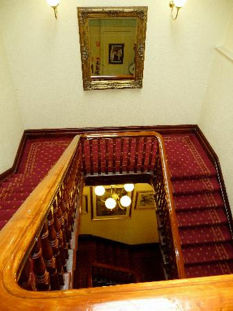 Hotel Claremont: If you were sleeping on the stairs you'd be Ok