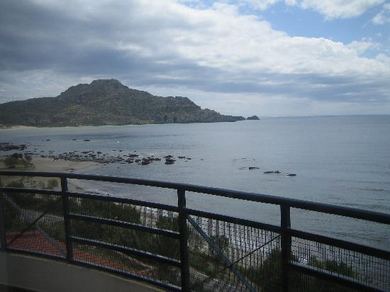 Horizon Beach Hotel: Blick vom Balkon nach Osten