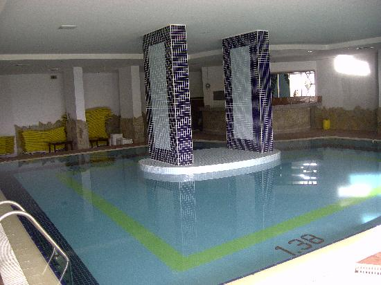 Palm d'Or: piscine intérieur