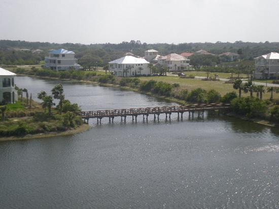 Cinnamon Beach at Ocean Hammock Beach Resort: View from 1053 building 1100 balcony.