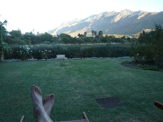 Montagu Vines Guesthouse: View from Montagu Vies.