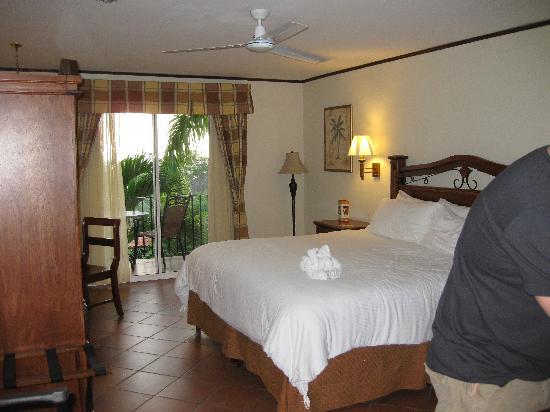 Hotel Parador: room