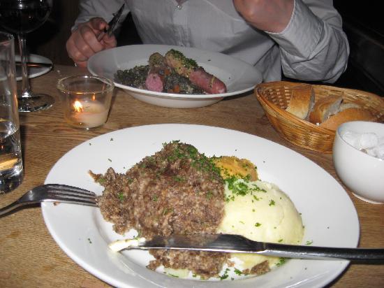 Cafe Gandolfi : Delicious haggis