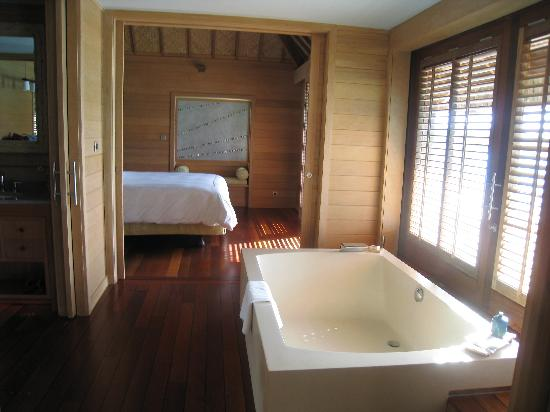 Inside The Bungalow Picture Of Four Seasons Resort Bora