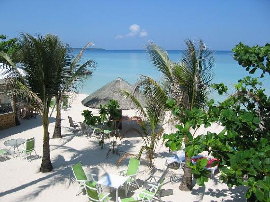 Marlin's Beach Resort: Blick vom Balkon