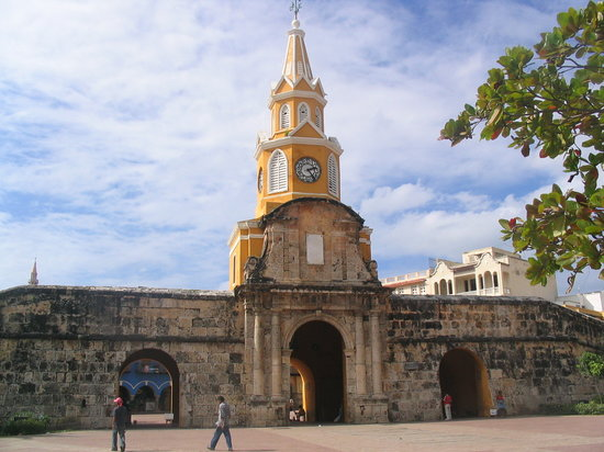 Carthagène, Colombie : La Torre del Reloj