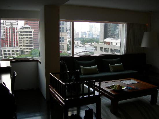 como metropolitan bangkok minimalist decor lounge area - Minimalist Decor