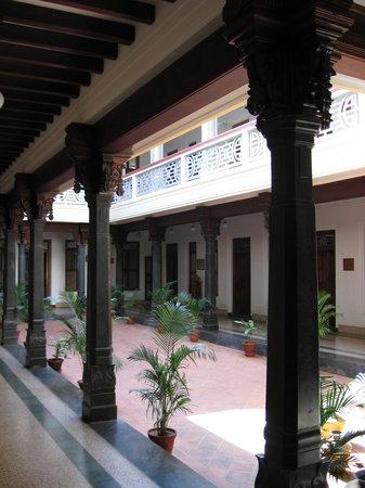 Visalam: Courtyard at the Visalam