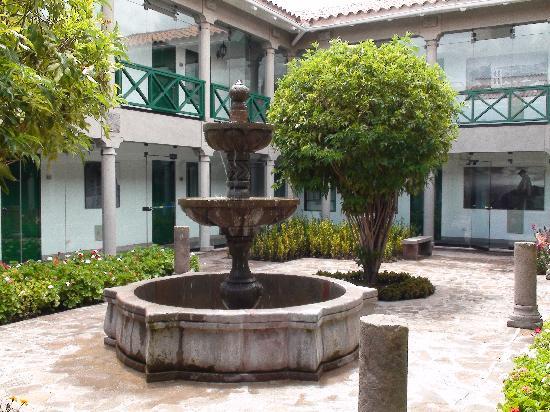Casa Andina Premium Cusco: one of their beautiful courtyards