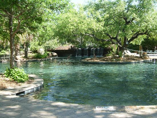 Pool picture of hyatt regency hill country resort and for Texas spas and resorts