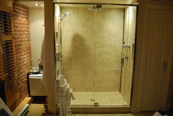 Hotel Le Vincent: Shower 3