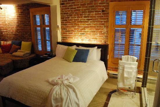 Hotel Le Vincent: Bed 1