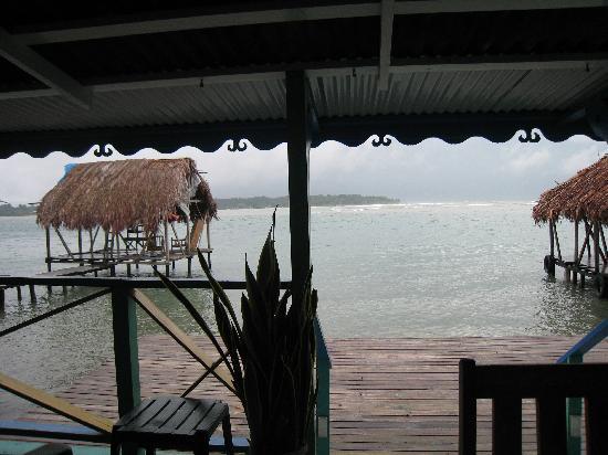 Cocomo on the Sea : porch view