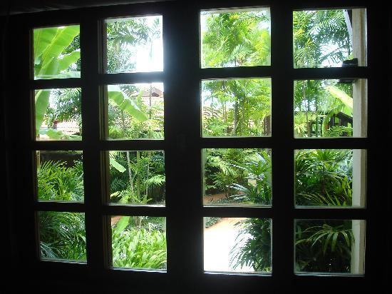 View from Garden Chalet at the Avillion Port Dickson