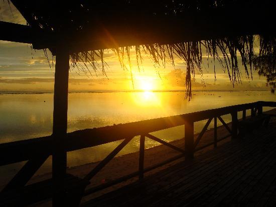 Vai Villas: Amazing sunsets daily
