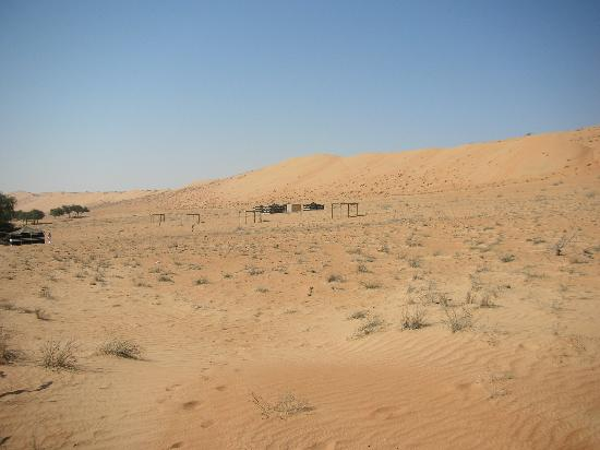 Wahiba Sands, Oman: Camp1