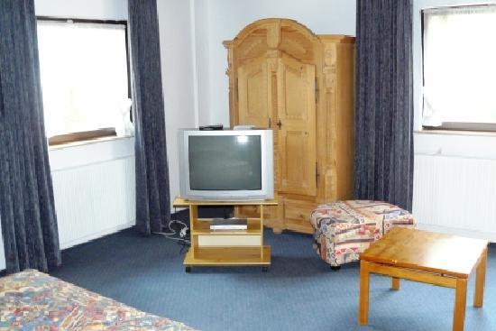 Jagdschloss Monchbruch: TV-corner
