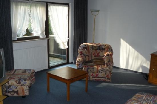 Jagdschloss Monchbruch: sitting-corner