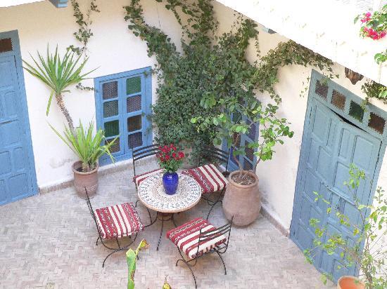 Dar Zouar: le patio