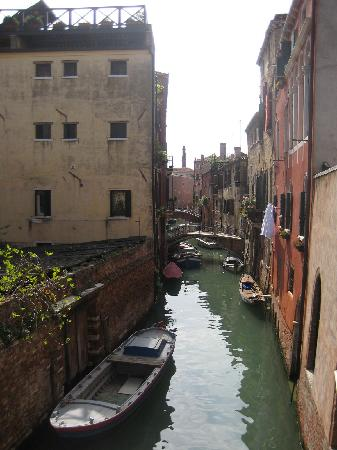 Locanda San Barnaba: Another shot taken from the balcony