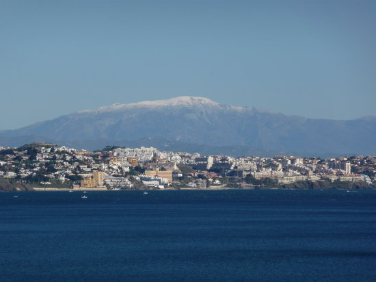 Fuengirola, Spanien: It was cold