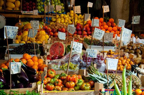 Palermo, Italy: Ballaro market