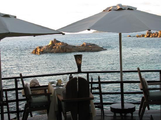 Constance Lemuria: restaurant de la plage