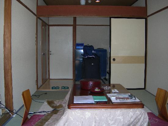 Nikko Tokanso: our room