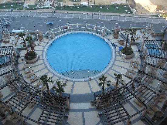 Four Seasons Hotel Alexandria: Our view of the outdoor pool