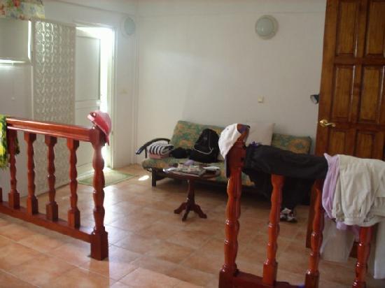 Caribbean Sea View Holiday Apartments: Le Séjour/salon