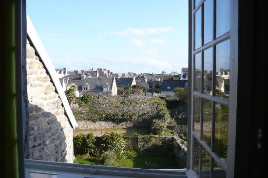 Residence des Perles : Vista desde una de las habitaciones