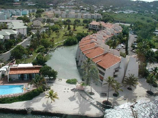 Mill Harbour Beach Resort: Ariel shot