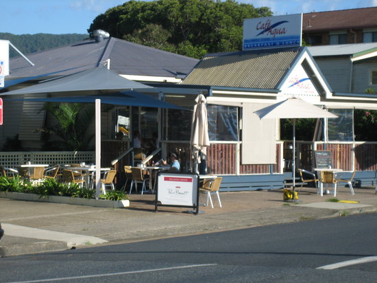 Cafe Aqua in Coff Harbour