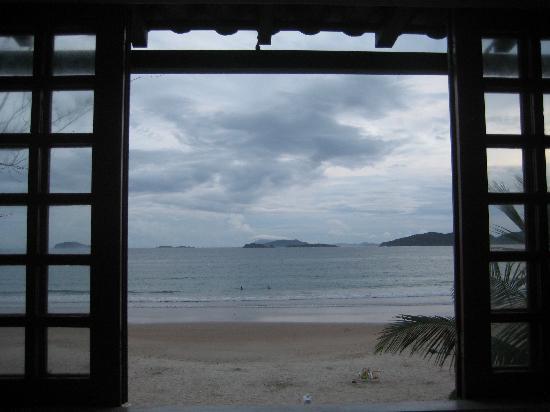 Chez Pitu Praia Hotel: View from luxury room