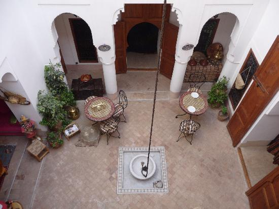 Riad Slawi: Patio central