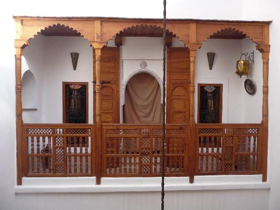 Riad Slawi: Balcón habitación